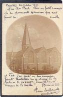 TIEGHEM - Kerk (Foto 1899) - Anzegem