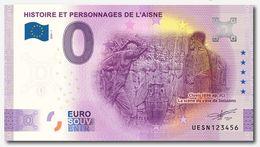 0 EURO 2020 - SOISSONS - HISTOIRE ET PERSONNAGES DE L'AISNE - CLOVIS, LA SCÈNE DU VASE - Essais Privés / Non-officiels