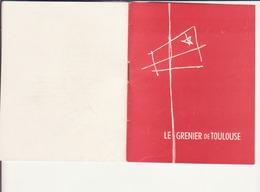Le Grenier De Toulouse 1951 - Programmes