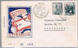 España, 1953, Para Barcelona - 1931-Oggi: 2. Rep. - ... Juan Carlos I