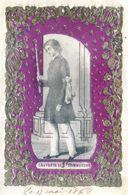 Image Religieuse - Souvenir De Communion - Gauffrée - Date : 1868 - Celui Qui Recoit Jésus Doit Consoler Les Affligés - Imágenes Religiosas