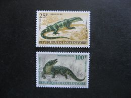 Cote D'Ivoire: TB Paire  N° 833 Et N° 834, Neufs XX. GT. - Ivoorkust (1960-...)