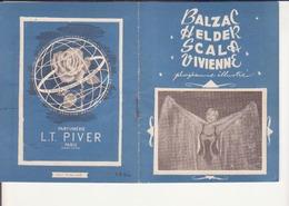 Balzac-Helder-Scala-Vivienne (années 1950) - Programmes