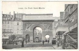 75 - PARIS 10 - La Porte Saint-Martin - Arrondissement: 10