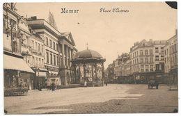 CPA PK  NAMUR  PLACE D'ARMES  KIOSQUE - Belgique