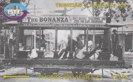 Trinidad & Tobago, 273CTTA,  Tramway, Train, 2 Scans. - Trinité & Tobago