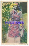 137139 CARIBBEAN TRINIDAD Y TOBAGO B.W.I COSTUMES NATIVE WOMAN POSTAL POSTCARD - Cartes Postales