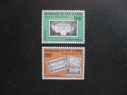 Cote D'Ivoire: TB Paire  N° 841 Et N° 842, Neufs XX. GT. - Ivoorkust (1960-...)