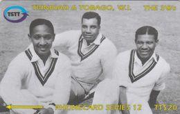 Trinidad & Tobago, 118CTTC, Sir Frank Worell, Cricket, 2 Scans. - Trinité & Tobago