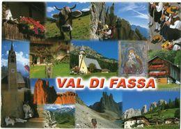 VAL DI FASSA - FASSA VALLEY - Cm. 17,2 X 12 - Andere Städte