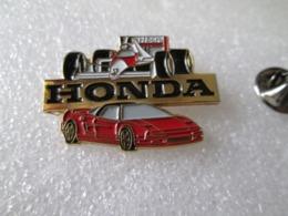 PIN'S   HONDA    NSX  Et  Mc  LAREN  FORMULE 1 - Honda