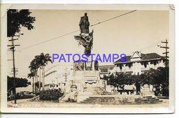 137145 BRAZIL BRASIL SANTOS SAO PAULO SQUARE INDEPENDENCE BREAK POSTAL POSTCARD - Brazil