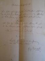 D172596 Old Document - Isidor STENGL  1865 - Nacimiento & Bautizo