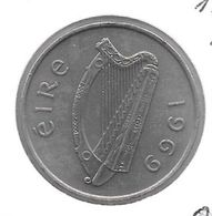*ireland 10 Pence 1969 Km 23 - Irland