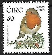 Ireland - MNH 1999 :     European Robin   - Erithacus Rubecula - Songbirds & Tree Dwellers