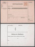 Children POST OFFICE - AUSTRIA KUK K.u.K - 1899 Post Begleitadresse - Form Parcel Packet Post - Entiers Postaux