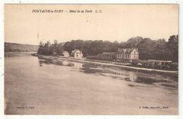 77 - FONTAINE-LE-PORT - Hôtel De La Forêt - 1927 - Altri Comuni