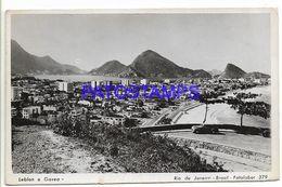 137147 BRAZIL BRASIL RIO DE JANEIRO LEBLON & GAVEA VIEW PARTIAL PHOTO NO POSTAL POSTCARD - Brazil