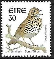 Ireland - MNH 1999 :     Song Thrush  -  Turdus Philomelos - Songbirds & Tree Dwellers