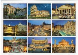 ROMA - Vedute - Cm. 17 X 12,2 - Viste Panoramiche, Panorama