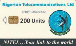 Nigeria, NG-NIT-0035 (6NAIFIC), Earth Station 200, 2 Scans. - Nigeria