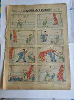 - GAZZETTA DEL POPOLO SEZIONE PER I PICCOLI 21 / 1932 - DICRETO - Books, Magazines, Comics