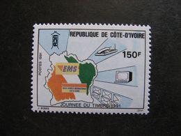 Cote D'Ivoire: TB N° 853, Neuf XX. - Ivoorkust (1960-...)