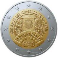 Andorra 2019    2 Euro Commemo Uit De BU  Conseil De La Terra  !! - Andorre