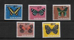 SURINAME 1977 BUTTERFLIES  MNH - Butterflies