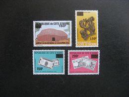 Cote D'Ivoire:  TB Série N° 872 Au N° 875, Neufs XX. - Ivoorkust (1960-...)