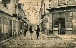 Ancenis * Rue Charost * Tabac * Restaurant * Le Marchand De Journaux - Ancenis