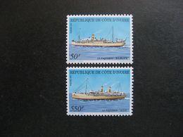 Cote D'Ivoire: TB Paire  N° 876 Et N° 877, Neufs XX. - Ivoorkust (1960-...)