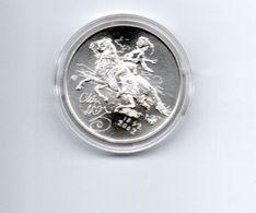 TSJECHIE 200 KORUN 2002 ZILVER MILLED EDGE MIKOLAS ALES - HORSE - Czech Republic