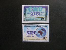 Cote D'Ivoire: TB Paire  N° 878 Et N° 879, Neufs XX. - Ivoorkust (1960-...)