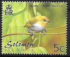 Solomon Islands - MNH 2001 :  Yellow-throated White-eye   - Zosterops Metcalfii - Songbirds & Tree Dwellers