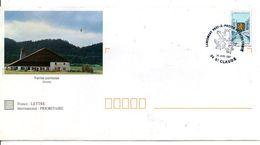 1 ER JOUR PAP FERME COMTOISE FRANCHE COMTE 1997 - Poststempel (Briefe)