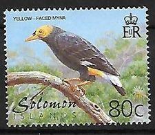 Solomon Islands - MNH 2001 :    Long-tailed Myna  -  Mino Kreffti - Songbirds & Tree Dwellers