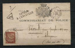 "France : Document Avec Timbre ""taxe"" (1897) - Portomarken"