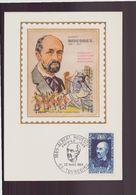 """France, Carte Maximum Du 22 Mars 1969 à Tourcoing """" Albert Roussel """" - Maximumkarten"""