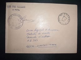 LETTRE MAIRIE LA BERNARDIERE OBL.1-6 1973 85 CUGAND VENDEE - Poststempel (Briefe)