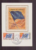 "France, Carte Maximum Du 22 Mars 1969 à Strasbourg "" Conseil De L'Europe "" - Maximumkarten"