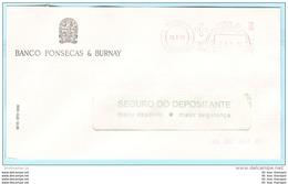 PORTUGAL AFS Meter Cover Freistempel Brief Lettre - 19.07.79 ---- Banco Fonseca & Burnay (26194) - Marcophilie - EMA (Empreintes Machines)