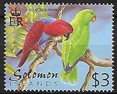 Solomon Islands - MNH 2001 :     Eclectus Parrot  -  Eclectus Roratus - Pappagalli & Tropicali