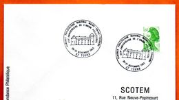 37 TOURS   L'UNION PHILATELIQUE 1982 Lettre Entière N° ST 339 - Poststempel (Briefe)