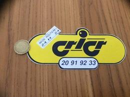 AUTOCOLLANT, Sticker «INFOS ROUTIERES 24H24 - Cricr» (radio) - Aufkleber