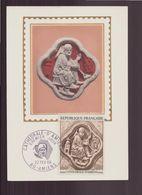 """France, Carte Maximum Du 22 Février 1969 à Amiens """" La Cathédrale """" - Maximumkarten"""