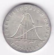 Rb_ DDR - 20 Mark - 1977 - Carl Friedrich Gauss (42) - [ 6] 1949-1990 : RDA - Rép. Démo. Allemande
