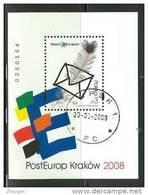 POLAND 2008  MICHEL NO:BL.177   Used - 1944-.... Republic