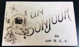 Regiment Chars Char Bonjour De 506 RCC Ed Lallemand Lardier Besançon - Reggimenti