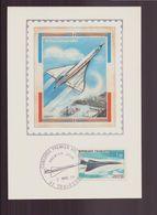 """France, FDC, Carte Du 2 Mars 1969 à Toulouse """" Premier Vol Concorde """" - FDC"""